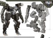 逆战机甲对战模式新机甲高清原画下载