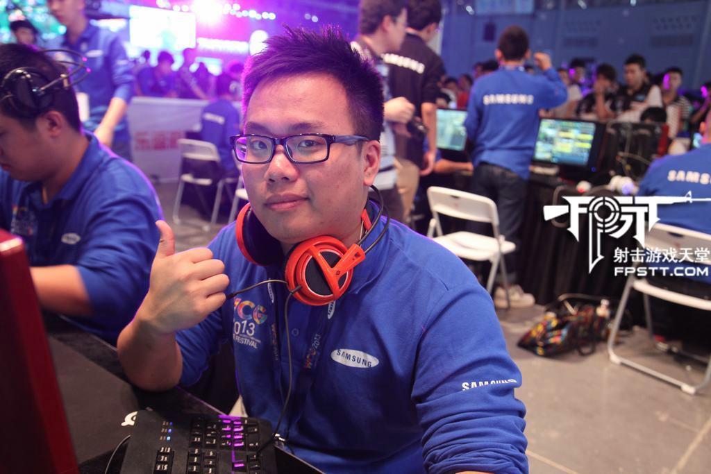 WCG2013中国区总决赛 第一日 选手瞬间#1