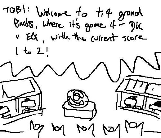 国外网友爆笑出品YY版TI4总决赛——DK vs EG