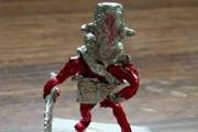 玩家用口香糖包装纸做出DOTA2英雄模型