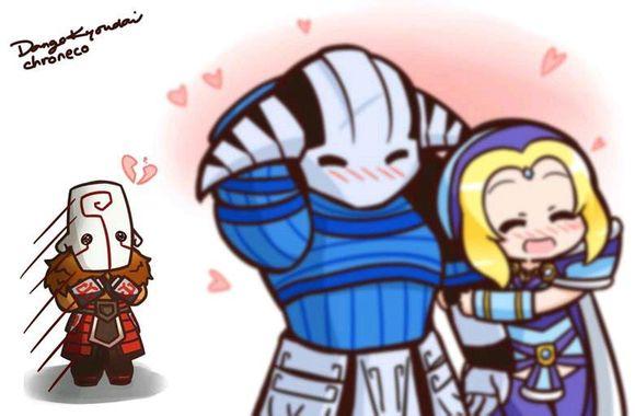 [图赏] 漫画DOTA2高校 完结篇:感谢一直的陪伴