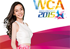 电竞公主Angelababy代言WCA2015,颜值爆表