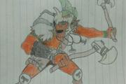 [图赏] DOTA2艺术玩家英雄手绘图册 完全手工绘画