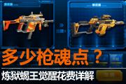 AF小杰:炼狱蝎王觉醒究竟多少枪魂卡?