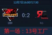 NSL 1207 常规赛 RG VS 狼群 第一场