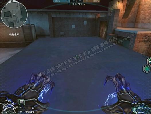 cf 中央/中央仓库,这是生化幽灵还没有出现时所有玩家出现的地方。