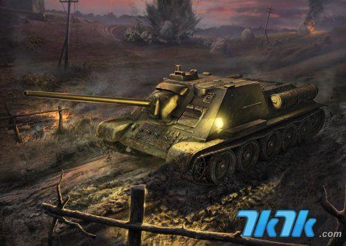坦克世界 将军 确定与端游联动运营 汉化进行至30