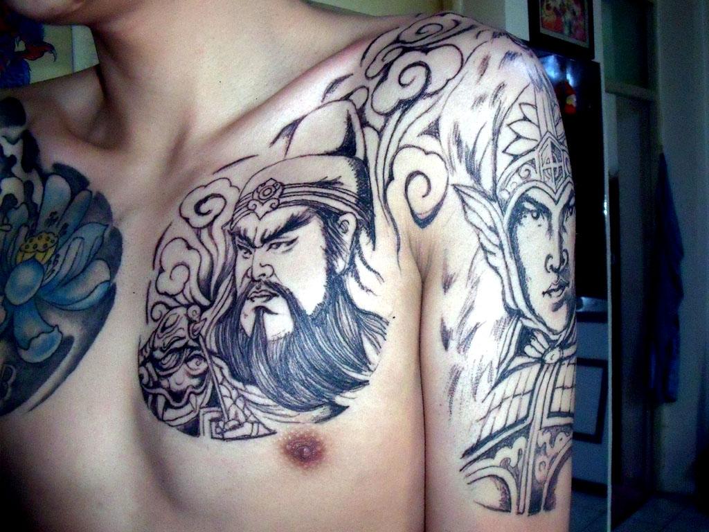 三国各种霸气英雄纹身你值得拥有